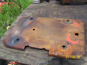 Vintage Ji Case 311 Tractor battery Tray Rusty 1956