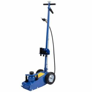 22ton Industrial Air Hydraulic Floor Jack Truck Lift Service Repair Lifting Blue