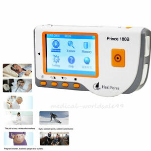 Handheld Color Ecg Ekg Mahine Portable Heart Monitor Usb Software Ce Brand New