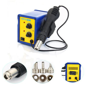 858 110v 400w Smd Rework Hot Air Gun Soldering Station Desolder W Led Indicator