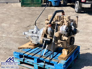 Cummins 4bt Engine For Sale 3 9l With T19 Transmission Tested Inspected 105hp