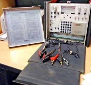 Industrial Technology Throwmaster 107 107m Cable Test Set W Case Adapter Pairs
