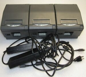 lot Of 3 Pcs Star Micronics Tsp700 Pos Thermal Printer Only 2 Power Cubes