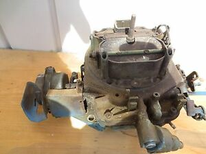 Amc Ford Jeep Motorcraft 4300 4350 Spreadbore Carburator For Parts Refurbish