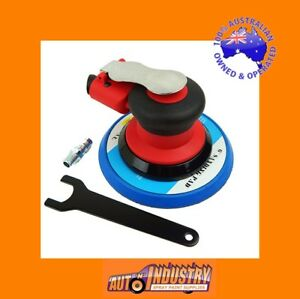 QUALITY AIR PALM SANDER 150mm DUAL ACTION 150mm VELCR0 PAD. RANDOM ORBITAL