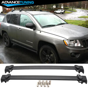 Fits 11 16 Jeep Compass Oe Style Roof Rack Cross Bar Crossbar Luggage Carrier