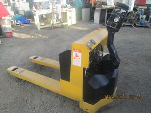 Big Joe Electric Pallet Jack Forklift_used_excellent Working Condition_fcfs