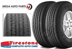 2 Firestone Transforce Ht Lt265 75r16 123 120r Owl E Heavy Duty All Season Tires