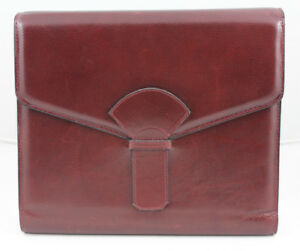 Bottega Veneta Cordovan Leather Daily Planner Agenda From The Anne Anka Estate