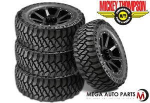 4 Mickey Thompson Baja Mtz P3 35 12 50r20lt Terrain Tires