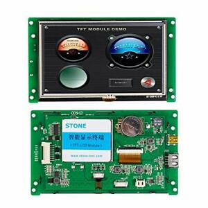 5 Hmi Serial Port Pcb Drive Sd Card Full Color 65k Rgb Tft Lcd Panel