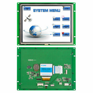8 Intelligent Power Stone Hmi Tft Module With Cpu Touch screen