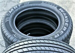 2 New 205 60r16 92h Mrf Wanderer Sport A s All Season Tires