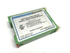 Dataforth Dsca41 13 Isolated Volt Wide Bandwidth Signal Module