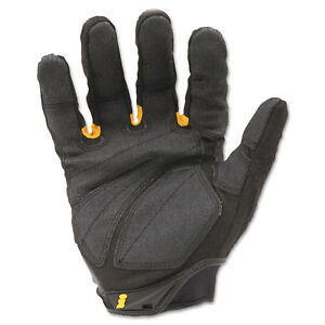 Ironclad Superduty Gloves X large Black yellow 1 Pair