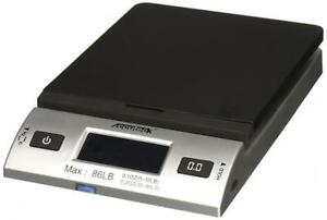 Accuteck S 86 Lb All in one Silver Digital Shipping Postal Scale With