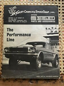 Orig 1965 1966 1967 Shelby Gt 350 500 R Model Cobra Part Accs Catalog 65 66 67