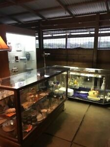 Display Cases Lot Of 3 One Is 1930 Era