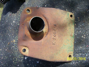 Vintage Oliver 77 Diesel Row Crop Tractor cast Iron Hydraulic Housing Cover