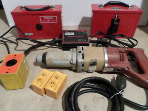 Aircraft Dynamics Roboimpact Drill Robopak Ss100 Battery Pack W Charger Tested