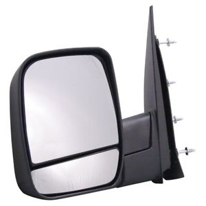 For Ford Econoline Van Driver Side Power Non Heated Replacement Mirror