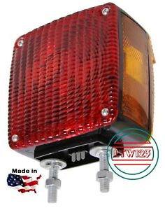 pair Truck Signal Light Amber Double Face