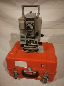 Leitz Sokkisha Total Station D20810 Set 3 Electronic Case Survey Surveyor