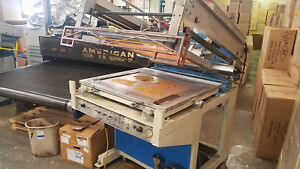 Flatbed Screen Printing Press