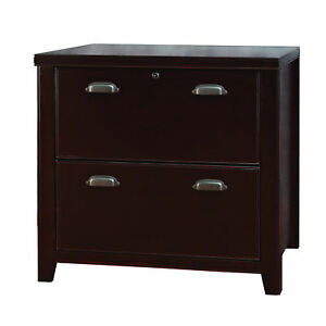 Tansley Landing Cherry 2 drawer Lateral File Cabinet