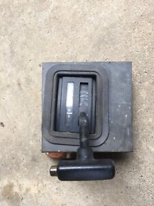 1987 1993 Mustang Automatic Aod Floor Shifter With Trim Bezel Oem