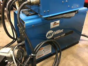 Miller Invision 456p Welder Miller Wire Drive Miller Automatic M Micropocessor