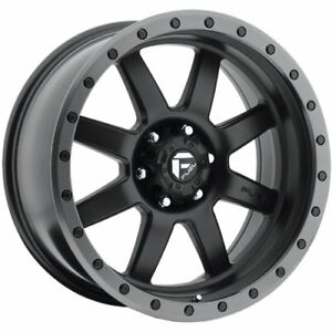 18x9 Black Fuel Trophy D551 8x6 5 1 Rims Nitto Trail Grappler 285 65 18