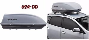 Roof Cargo Box Car Top Carrier Mount Travel Storage Luggage Rack Hard Shell Xl