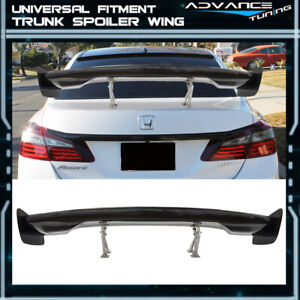 For Honda 57 Gt F1 Z Style Real Carbon Fiber Deck Trunk Spoiler Wing