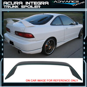 Fit 94 01 Acura Integra Type r Trunk Spoiler Painted g82p Cypress Green Pearl
