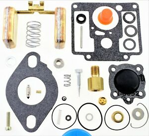 Carburetor Kit Fit Gehl Sl3510 Sl3610 Skid Steer Loader Zenith 13898 13908