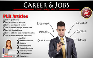 1200 Plr Articles On Career And Jobs Niche Private Label Rights