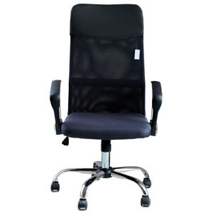 Ids Ergonomic Adjustable Mesh High back Pu Headrest Office Task Chair With Arms