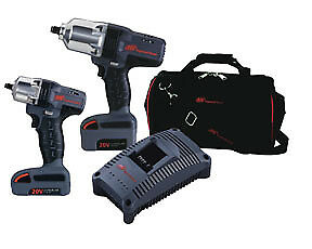 Ingersoll Rand Iqv20 201 2 Piece Iqv20 Cordless Impact Wrench Combo Kit