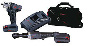Ingersoll Rand Iqv20 203 2 Piece Iqv20 Cordless Combo Ratchet And Impact Wrenc