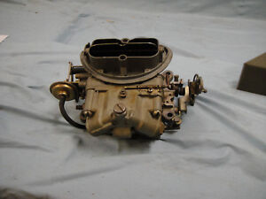 1969 Early Tripower Center Carb