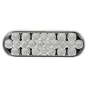 Truck lite 6060c Signal stat Lamp Led Clear Oval 24 Diode Back up Light P