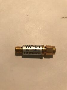 Lot Of 24 Vat 3 1 Mini circuits Dc 3ghz 3db 50 Ohm Rf Attenuators Nos