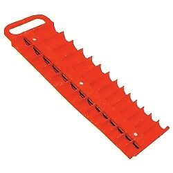 Lisle Large Magnetic 3 8 Socket Tray Red 40200