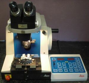 Leica 2065 Reichert Jung Supercut Microtome W Controller Stereo Star Zoom