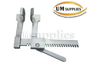 Baby Finochietto Rib Spreader 18mmx20mmx75mm Veterinary Stainless Steel New