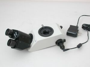 Nikon Teaching Head For Labophot Optiphot Microscope Series With Light Source