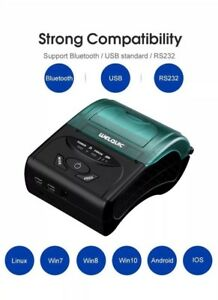 Wireless Pocket Mini Thermal Receipt Printer For Ios Android Wins Mobile 58mm