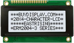 Small Size 5v High Contrast 20x4 Character Lcd Module Display w tutorial hd44780