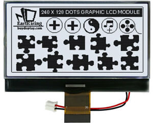 Serial 3 3 White 240x128 Cog Graphic Lcd Module Display w uc1608 tutorial